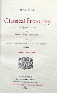 Manual of Classical Erotoloy